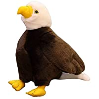 豪華な抱擁の枕怠惰なクッション、豪華なかわいい動物の抱擁ギフト枕のかわいいクッションぬいぐるみの枕装飾ぬいぐるみ動物シーイーグル人形A、サイズ:40cm (Size : 40cm)