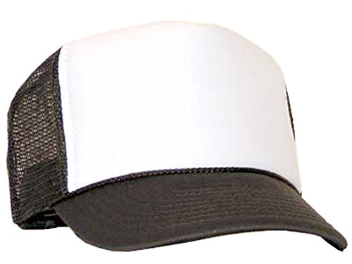 Raphia Art Brown Casquette en maille de White