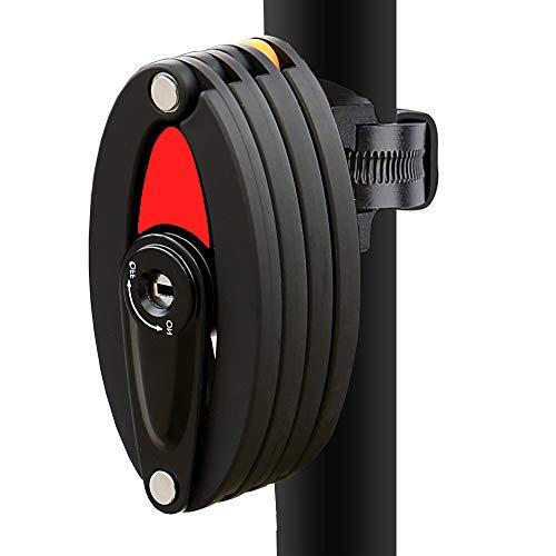 de 5 d/ígitos combinaci/ón reconfigurable cerraduras antirrobo para Bicicleta Isuper Bloqueo de Cadena de Bicicleta