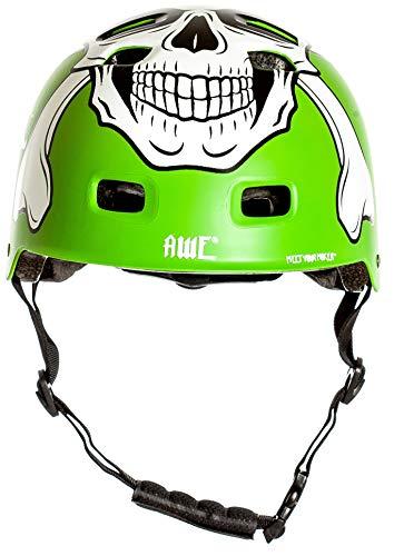 AWE® MEET YOUR MAKERTM BMX Helm Grün 55-58cm FREIES 5 JAHR CRASH ERSATZ * - 2