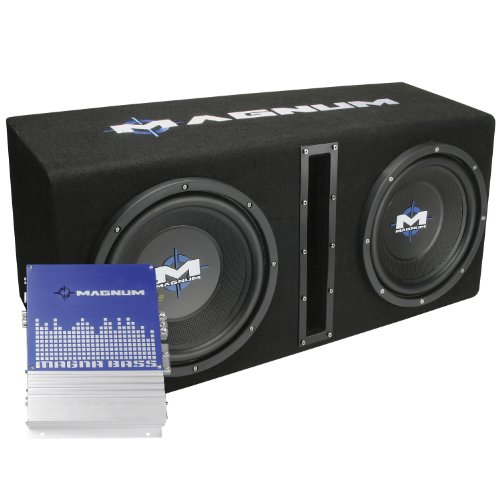 MTX Magnum MB210SP Dual 10″ Enclosure/Amp Combo
