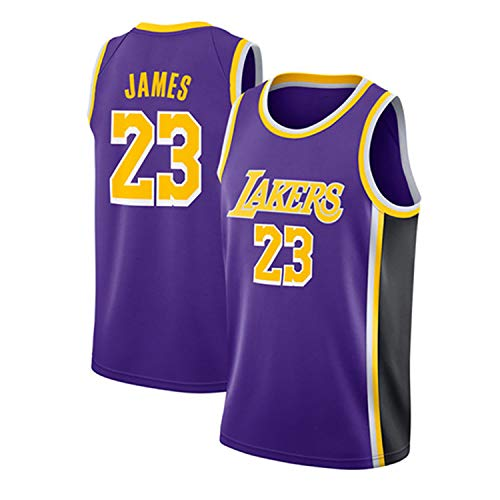 RENDONG Los Hombres De Camiseta De La NBA Lakers # 23 James...