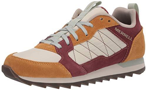 Merrell Alpine Sneaker, Zapatillas Mujer, Multicolor (Oro/Sable), 37.5 EU