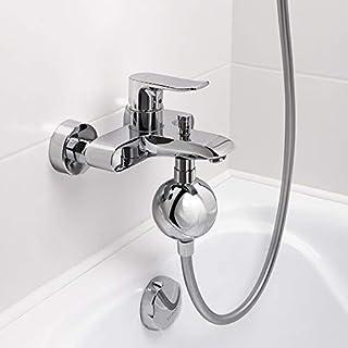 お風呂浄水器 ウォーターフィルター 硬水を浄化する 抗菌 消臭 節水 99%シャワーヘッド (シルバー)