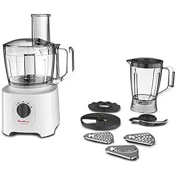 Moulinex Easy Force 700 W - Robot de cocina (1,4 L, Blanco, Giratorio, 700 W): Amazon.es: Hogar