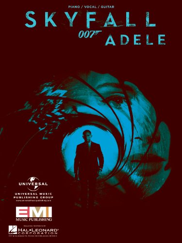 Adele - Skyfall (from 007) - Piano/Vocal/Guitar Sheet Music