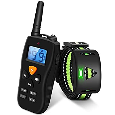 Dog Training Collar - Rechargeable Dog Shock Co...