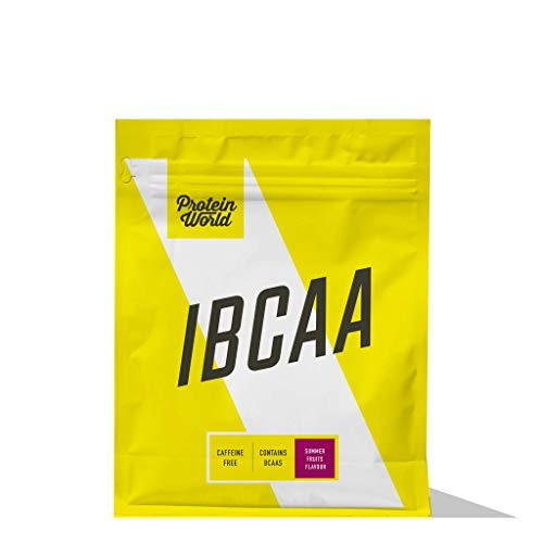 Protein World - IBCAA - Caffeine Free Pre-Workout Powder Summer Fruits 500g - 50 Servings