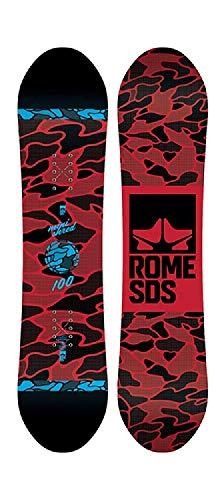 Rome Snowboards Monished - Tabla de Snowboard, Color Negro