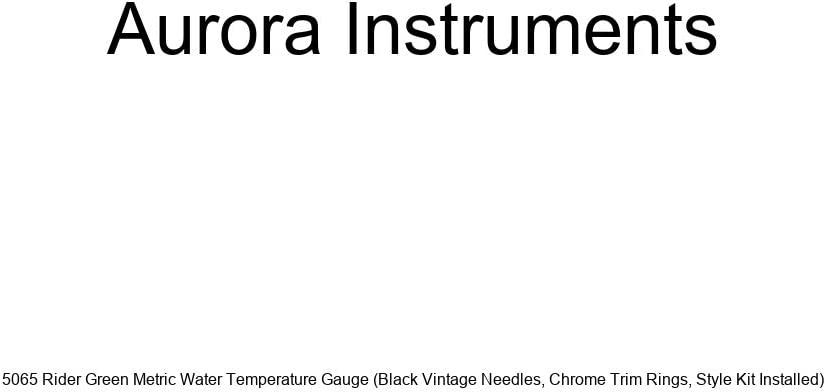 Aurora Instruments 5065 Rider Green Water Metric Super intense Free shipping anywhere in the nation SALE Temperature Gau