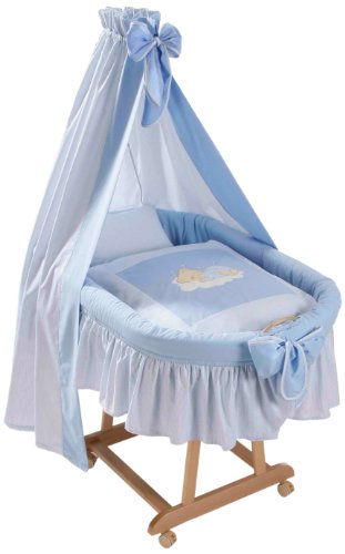 Easy Baby Stubenwagenset - Sleeping Bear Blau