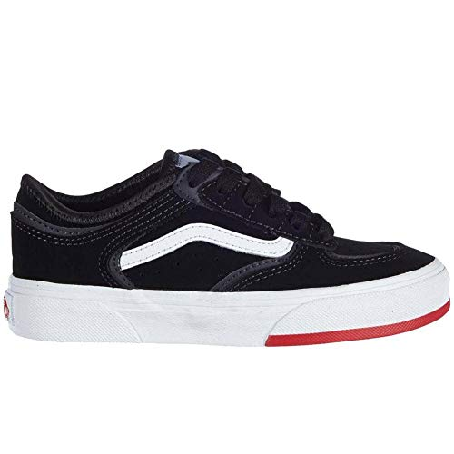 Vans Scarpe Skateboard Rowley Classic (66/99/19) Black RED 33