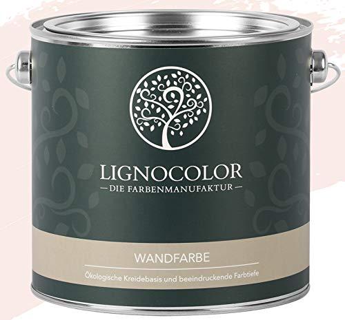 Lignocolor Wandfarbe Innenfarbe Deckenfarbe edelmatt 2,5 L (Cotton)