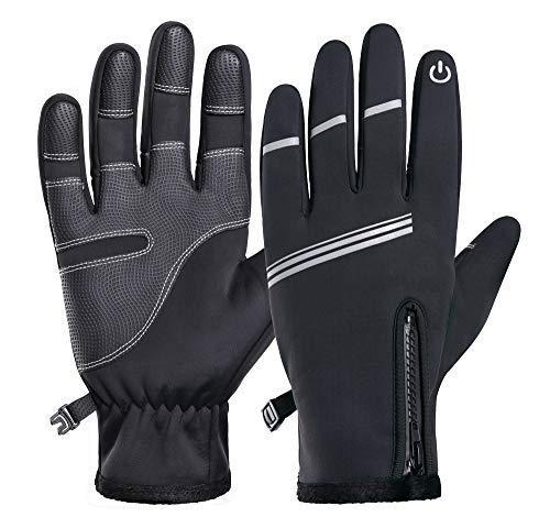 SSN Ciclismo Guantes Térmicos Pantalla Táctil MTB MTB Full Finger Bike Glove...