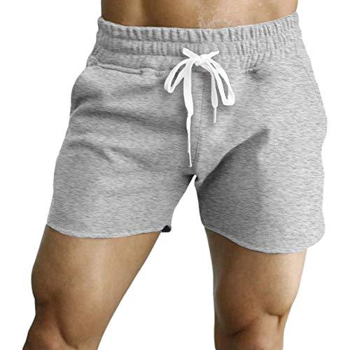 Pantalones de chándal Casuales Lisos, chándales, Verano para Hombre, Sueltos, Informales, versión Regular, Pantalones de Entrenamiento para Correr al Aire Libre, Pantalones de Fitness 3XL