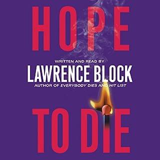 Hope to Die audiobook cover art