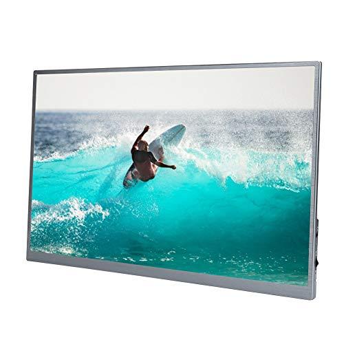 Monitor portátil, 15 pulgadas 1920x1080 IPS HDR Ultra Slim USB-C Pantalla de visualización de computadora portátil con Mini HDMI tipo C dual,para Laptop PC Teléfono Mac Surface Xbox PS4 Switch (yo)