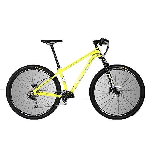 SIER Bicicleta de montaña de aleación de aluminio de 29 pulgadas de diámetro de rueda de 30 velocidades de frenos de disco doble escalada bicicleta de montaña