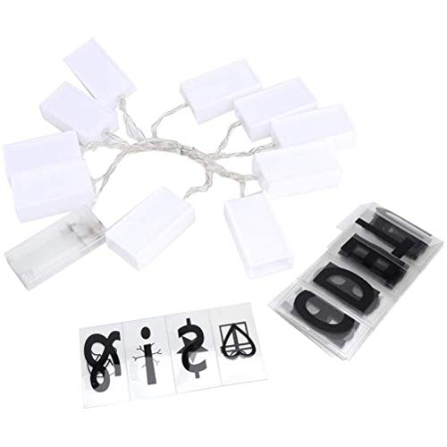 41C3g9mRJUL - Scrabble LED, Guirlande de Mots Personnalisable pour la Déco