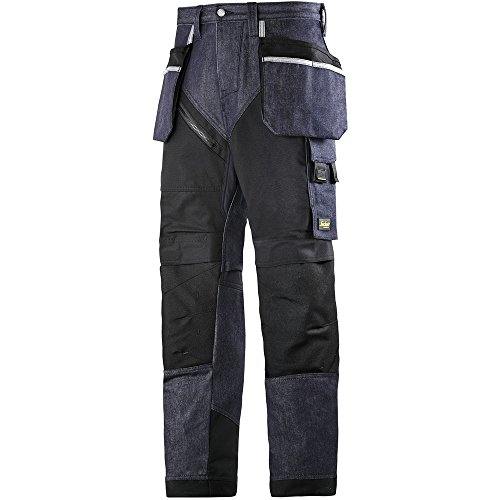 Snickers Workwear 6205 RuffWork Denim werkbroek m. HP, 44 60 denim