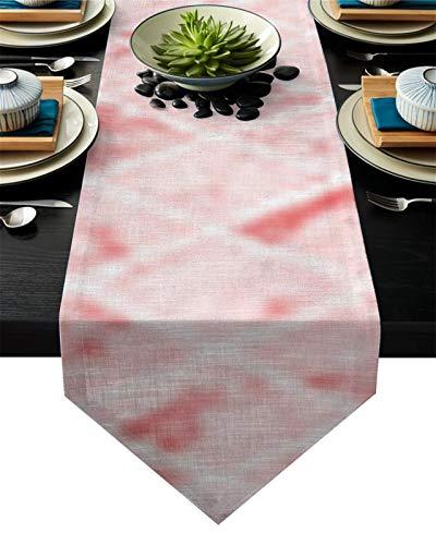 WUCHENG Golden Brillo Tendencia Marble Corredor Mesa decoración del hogar Fiesta Sala de Boda decoración Restaurante Restaurante Mesa Camino de Mesa (Color : WHH02125, Size : 46x183cm)