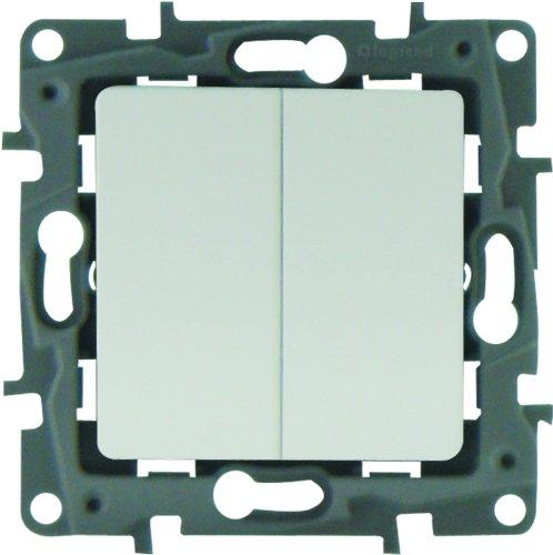 Legrand Niloe LEG96602 - Marco para interruptor, color blanco