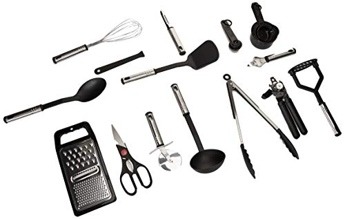 Home Hero Kitchen Utensil Set - Nylon Cooking Utensils - Kitchen Utensils with Spatula - Kitchen Gadgets Cookware Set - Best Kitchen Tool Set