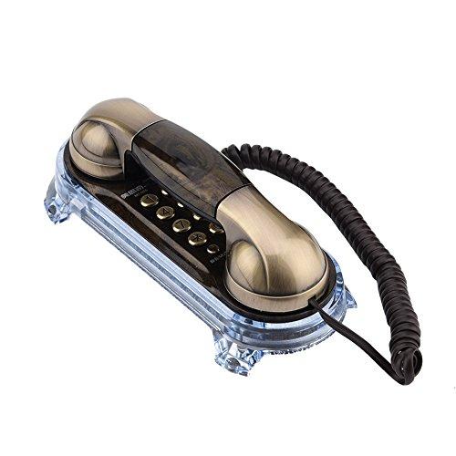 buenos comparativa Teléfono retro Richer-R, teléfono fijo antiguo, teléfono elegante con diseño antiguo,… y opiniones de 2021