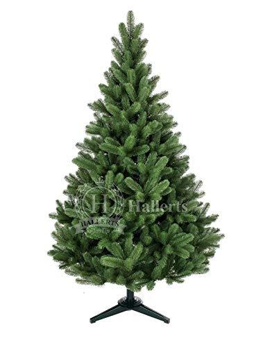 Hallerts Original Spritzguss Weihnachtsbaum Hylton 150 cm Douglasfichte - zu 100{a2e832eac22ca3d75fcca66665e6e747b3e3f0947adedaa53666be2a89ce0d63} in Spritzguss PlasTip® Qualität - schwer entflammbar nach B1 Norm, Material TÜV und SGS geprüft