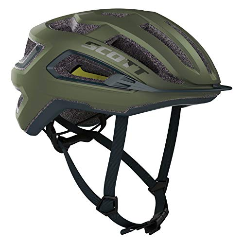 SCOTT 275192 Fahrradhelm Unisex Erwachsene Grn Mo/n Bl 59-61