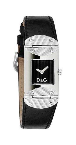 Dolce & Gabbana BLK DIAL BLK Strap DW0325 – Reloj de Mujer de