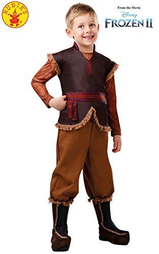 Rubies Disfraz oficial de Disney Frozen 2, Kristoff Deluxe para niños, tamaño pequeño, edad 3 – 4 años