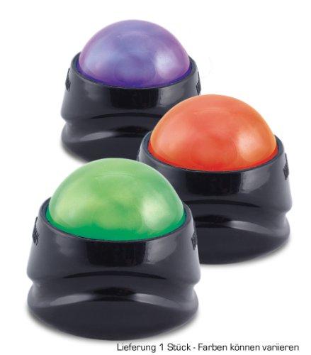 Kernpower ® BodySecrets Power Massage Roller - Material para Entrenamiento de Tronco y Abdominales, Color Negro, Talla única