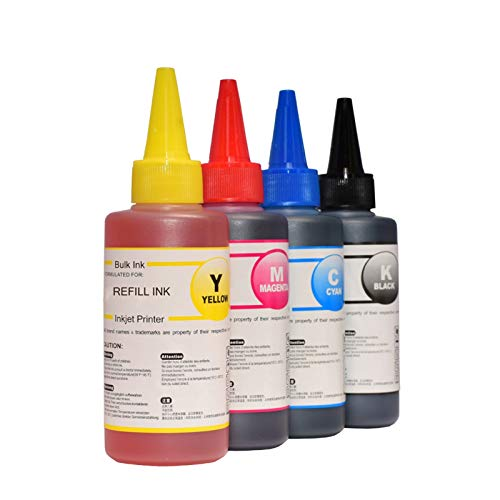 XDTLD para C-Anon 545546 Tinta de Impresora C-Anon PG540 CL541 XL P-IXMA MG2950 MG2550 MX495 IP2850 MG2450 MG2550S Piezas de Repuesto (Color : 400ml Without Tool)