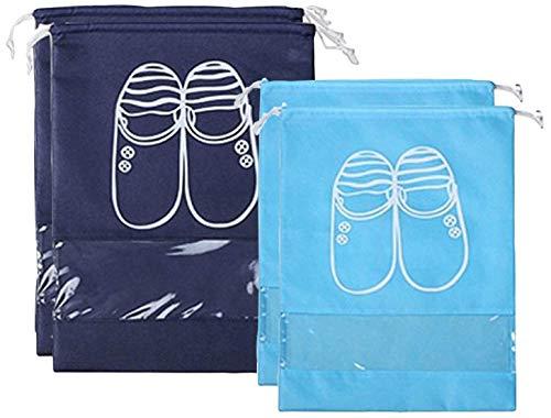 Timotech Bolsa Para Zapatos de Alta Calidad Con Cordón Ajustable Bolsas de Viaje Para Zapatos y Tenis,…