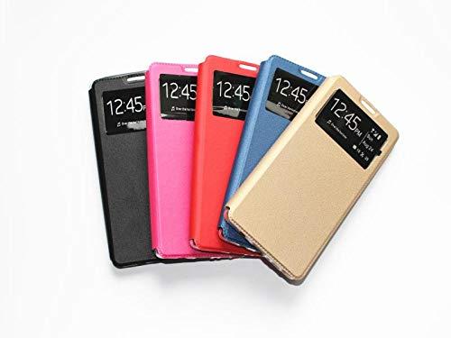 Wephone Accesorios Funda de Libro Silicona TPU Color (iPhone SE 2020/7 / 8, Negro)