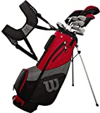 Wilson Golf Profile SGI Men's Complete Golf Set — Regular, Right Hand,Red (Regular)