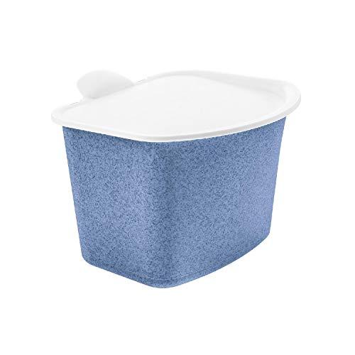 Koziol Bio-Abfall-Behälter Bibo Organic Blue (1 Stück)