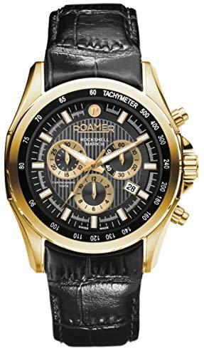 Roamer Reloj Analógico para Hombre de con Correa en Cuero 220837-48-55-02