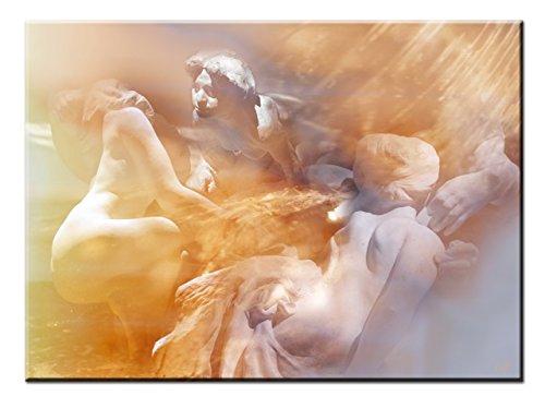 Cado Pared Arte Moderno, título: Homenaje a Rodin, Impresión de Lienzo
