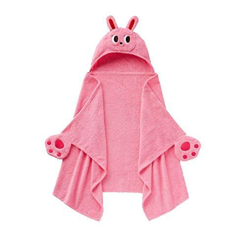 YUYAXPB Toalla con Capucha para Bebé - Toallas de Baño con Capucha para Bebés, Niños Pequeños - Diseño de Conejo Baby Shower para Niños y Niñas - 0-14 Años