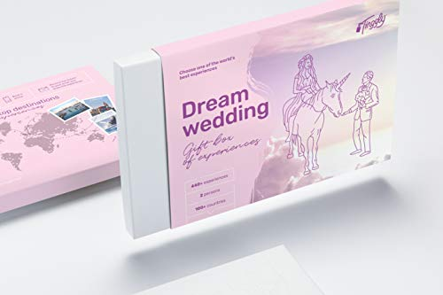 top christmas gifts vouchers and gift cards Dream Wedding - Tinggly Experience Gifts Voucher/Gift Card in a Gift Box