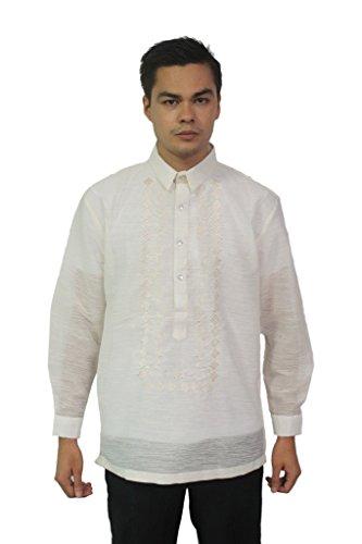 BW Filipino Jusilyn Barong Tagalog 001 Ivory