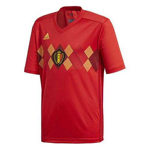 Belgium Home Youth Soccer Jersey World Cup Russia 2018 (YM)