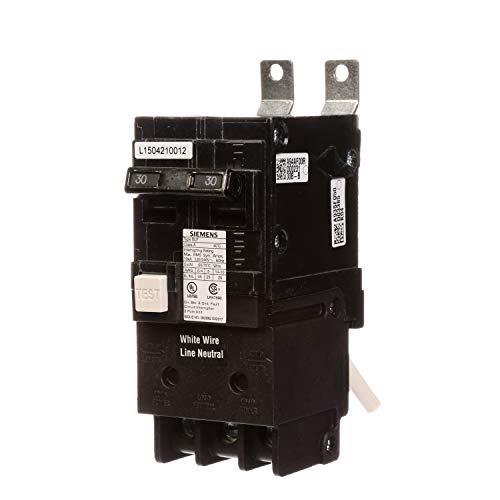 Siemens BF230 30-Amp Double Pole 120/240-Volt 10KAIC Ground Fault Circuit interrupter