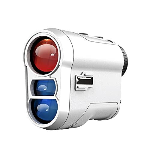 WGG Golf Rangefinder 1000 Y telémetro para Exteriores con Pendiente y Bloqueo de Bandera Interruptor de Pendiente de vibración física para Campeonato de Golf Regalo de Golfista (Color : 600Y)