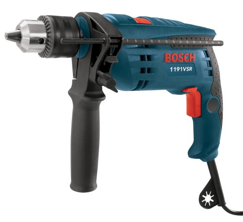 Bosch 1191VSRK 120-Volt Single-Speed Hammer Drill