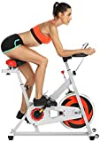 Aceshin Home Gym Upright Exercise Fitness Bikes Indoor Exercise Cycling Training Bike with...