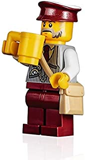 LEGO Holiday Minifigure - Winter Holiday Train Ticket Collector (with Pouch) 10254