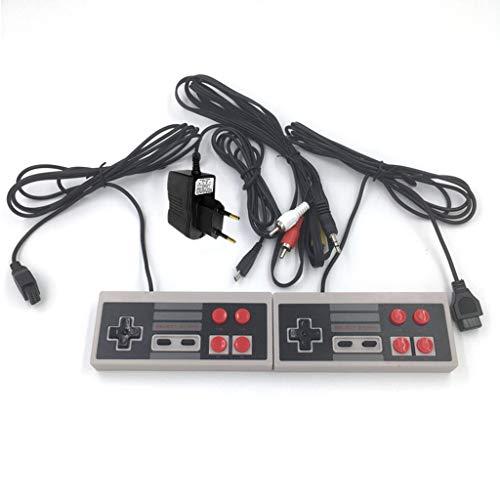 yinuneronsty Système De Divertissement avec Console De Jeu Mini Classique Rétro 620 Jeux Intégrés